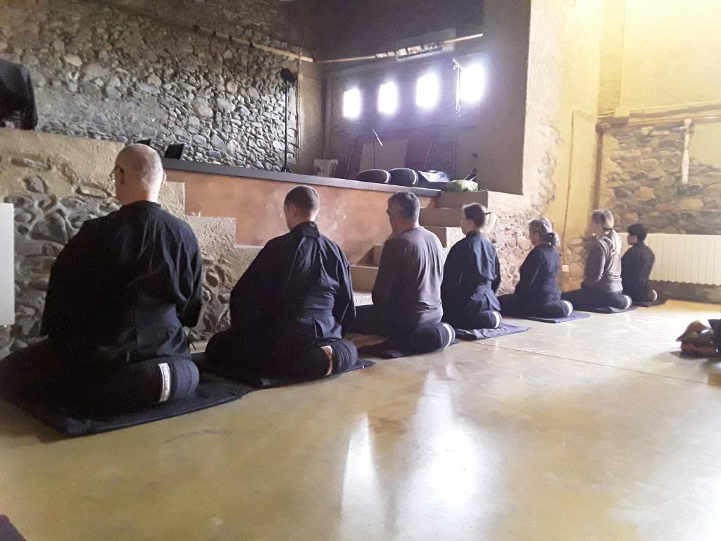 Dojo Zen | Budismo Zen en Barcelona | Matí de zazen a Santa Maria de Palautordera. Diumenge 3 juny 2018
