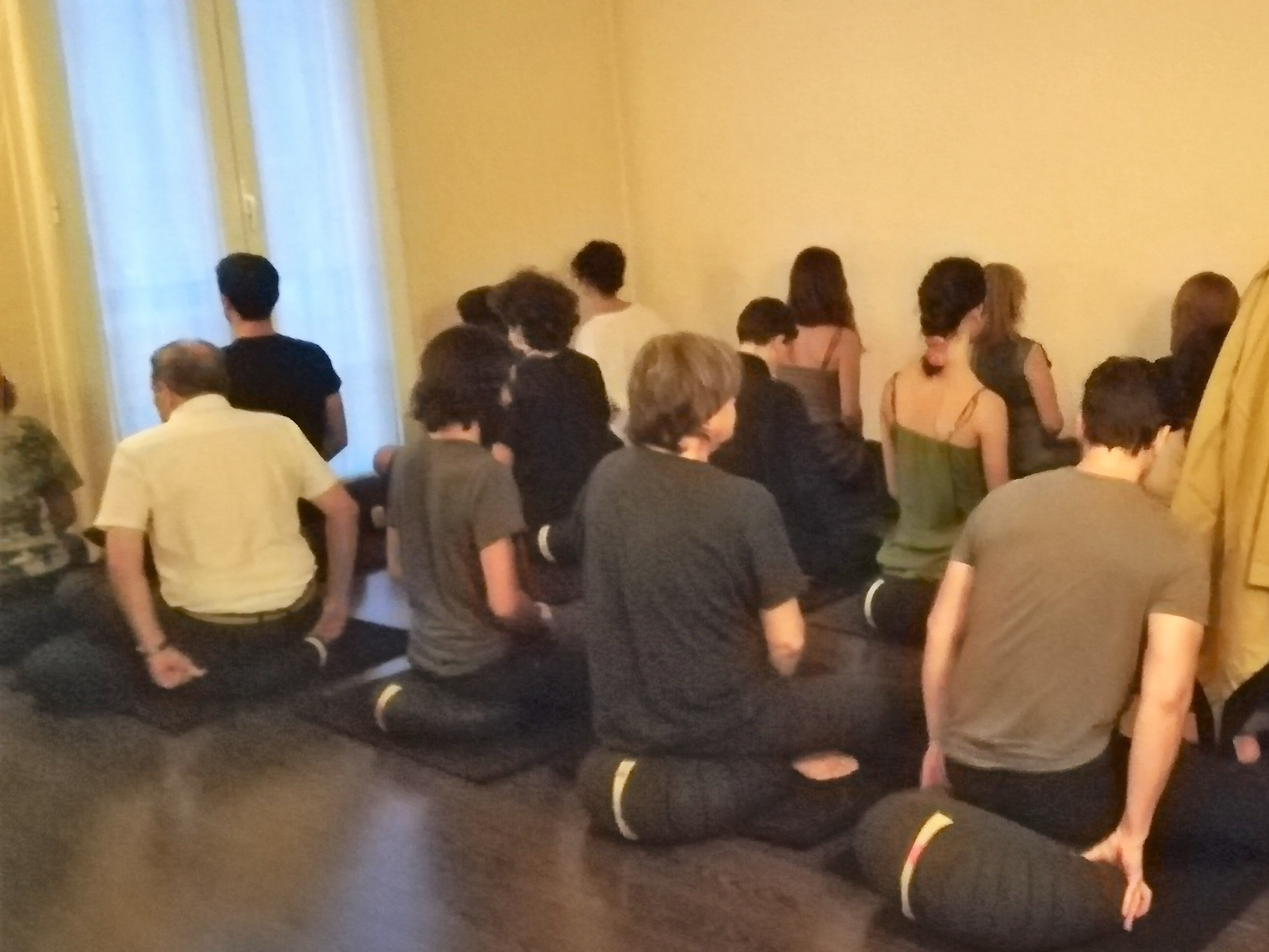 Dojo Zen | Budismo Zen en Barcelona | La Nit de les Religions 2018